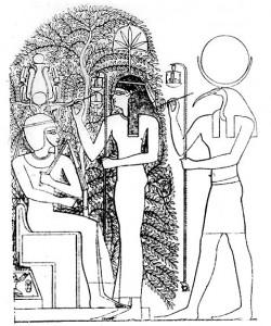 Milkau_Der_heilige_Baum_von_Heliopolis_mit_Thot_und_Seschet_15-2