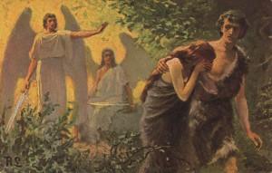 vertreibung aus dem paradies- gemeinfrei